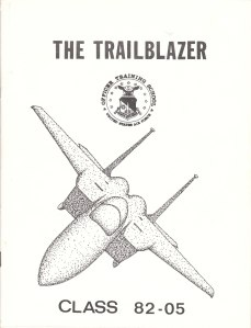 The Trailblazer F-15 Cover Art #1 (1981)