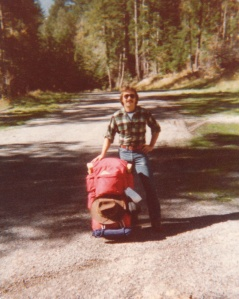 Mark backpacking in Olympic National Park #1 (1978) - Mark D. Jones