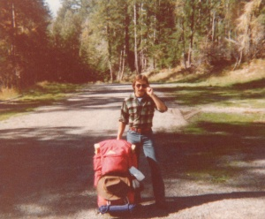 Mark backpacking in Olympic National Park #2 (1978) - Mark D. Jones