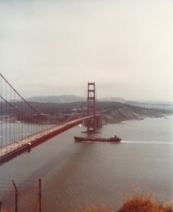 Golden Gate Bridge (1978) by Mark D. Jones