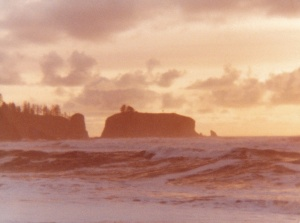 Olympic Peninsula Sunset #2 (1977) by Mark D. Jones