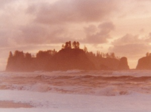 Olympic Peninsula Sunset #3 (1977) by Mark D. Jones