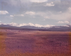 Colorado Vista (1977) (Damaged Photo) by Mark D. Jones