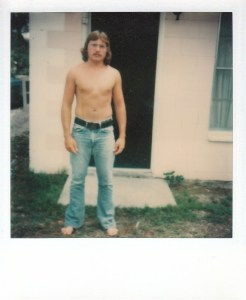 Mark at the SeaGun Resort Hotel in Rockport, TX #2 (Jan 1977) - Mark D. Jones