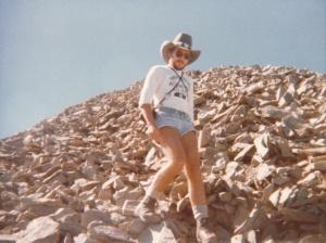 Lone Peak Summit #5, Big Sky, MT (1978) by Mark D. Jones