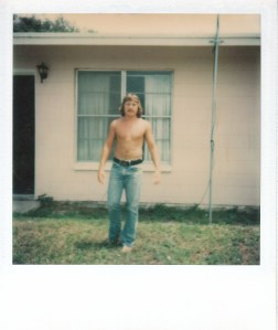 Mark at the SeaGun Resort Hotel in Rockport, TX #1 (Jan 1977) - Mark D. Jones
