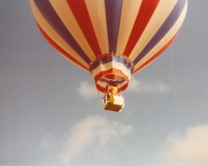 Balloons In Flight #18 (1978) by Mark D. Jones