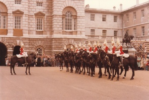 Horse Guards Parade, London #1 (1979) by Mark D. Jones