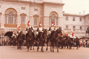 Horse Guards Parade, London #3 (1979) by Mark D. Jones