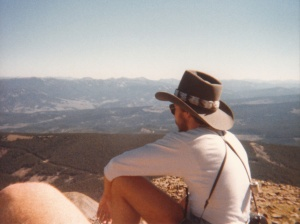 Lone Peak Summit #4, Big Sky, MT (1978) by Mark D. Jones