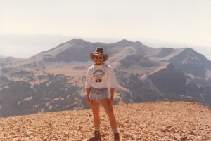 Lone Peak Summit #3, Big Sky, MT (1978) by Mark D. Jones