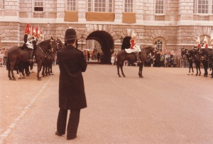 Horse Guards Parade, London #2 (1979) by Mark D. Jones