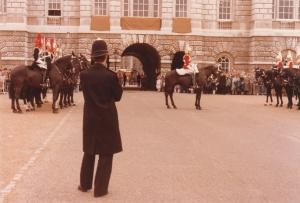 Horse Guards Parade, London #2 (1979) by Mark D. Jones