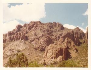 Big Bend National Park (A ridge we climbed) (1977) by Mark D. Jones