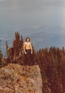 Mark on Hurricane Ridge, Olympic National Park, WA (Summer 1977) - Mark D. Jones