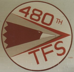 480th TFS 'Warhawks' Squadron Patch (1985)