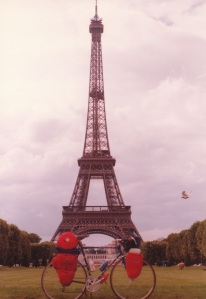 My Bike at the Eiffel Tower (1979)