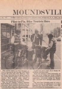 Moundsville Daily Echo, WV, Newspaper Article (Oct 7, 1976) - Mark D. Jones