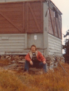 Mark backpacking in Olympic National Park #4 (1978) - Mark D. Jones