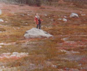 Mark backpacking in Olympic National Park #5 (1978) - Mark D. Jones