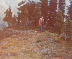Mark backpacking in Olympic National Park #6 (1978) - Mark D. Jones