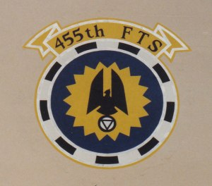 455th FTS Squadron Patch #1 (1988)