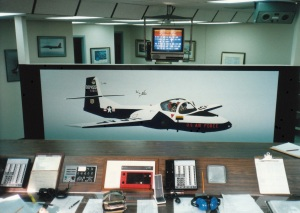 455th FTS T-37 'Tweet' Mural #1 (1988)