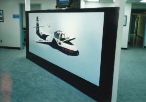 455th FTS T-37 'Tweet' Mural #3 (1988)