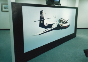 455th FTS T-37 'Tweet' Mural #2 (1988)