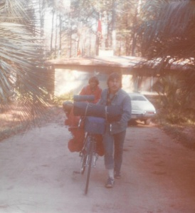 Mark (r) and Bruce (l) in Tallahassee, FL #2 (Dec 1976) - Mark D. Jones