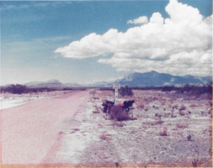 West Texas #2 (1977) (Damaged Photo) by Mark D. Jones