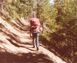 Mark backpacking in Olympic National Park #3 (1978) - Mark D. Jones