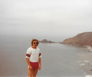 Mark at the California coast (1978) - Mark D. Jones