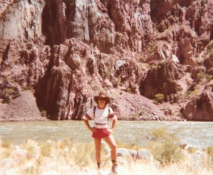 Mark on the Bright Angel Trail at the Colorado River in the Grand Canyon (1978) - Mark D. Jones