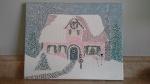 'Christmas Cottage' #1 by Mark D. Jones