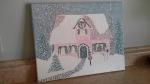 'Christmas Cottage' #2 by Mark D. Jones
