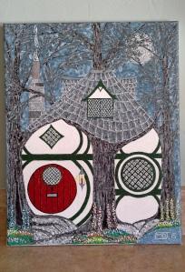 'Wood Cottage' (2015) by Mark D. Jones