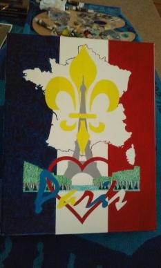 'Paris' Work-In-Progress 2016