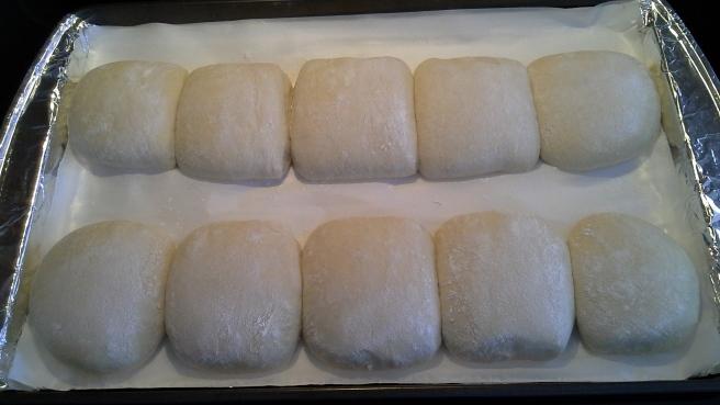 Chewy Italian Rolls - Batch 2