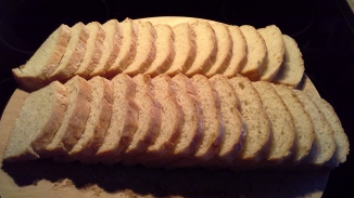 Amish White Bread - 1st Batch