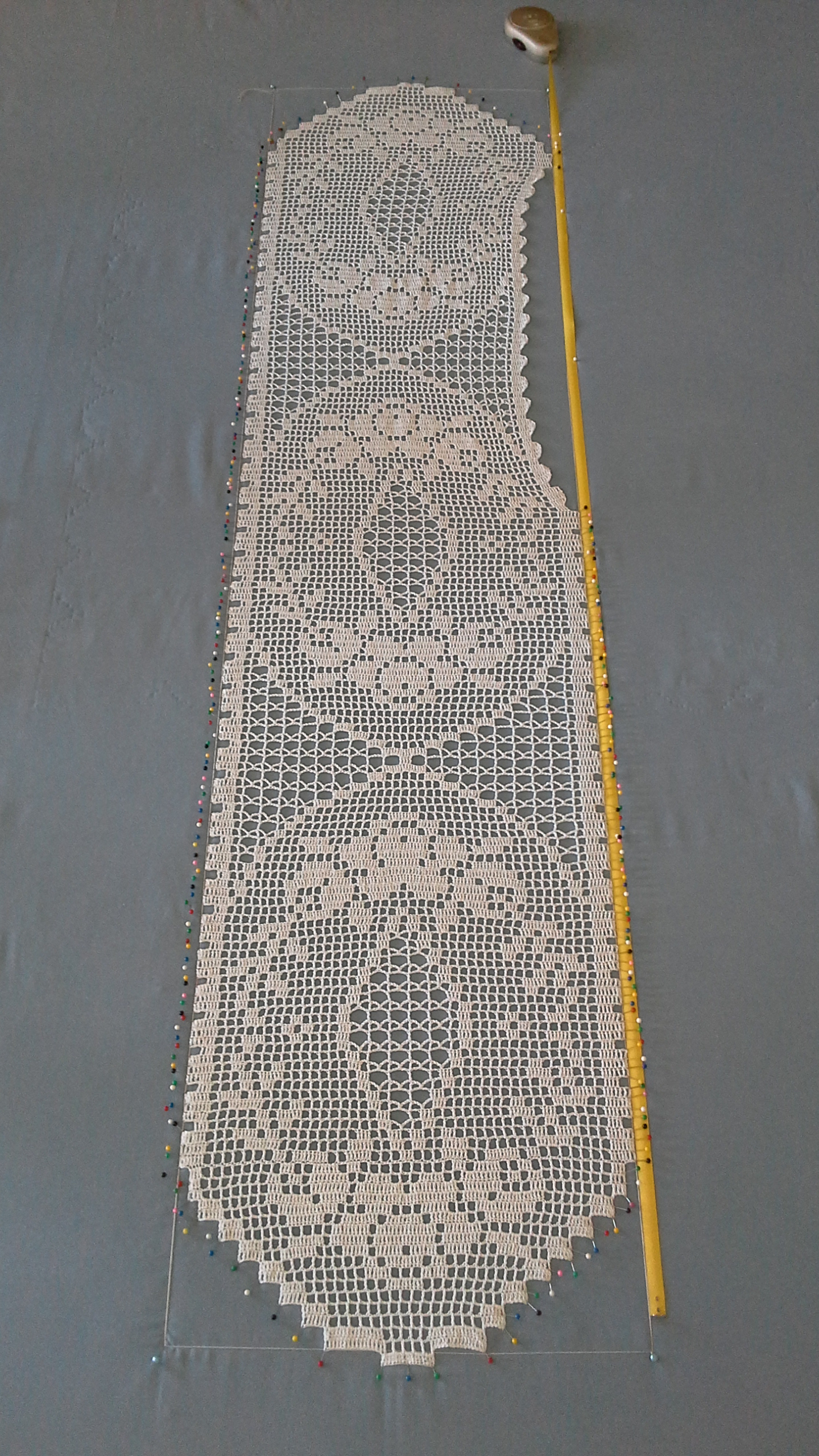 Crochet Patterns Lace Table Runners : Heirloom Quality Crochet Lacework ~ Lace Table Runner with ...