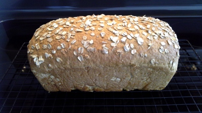 Honey & Oats Bread